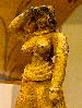 minoanmiss: Minoan statuette detail (of a buxom Minoan lady) (Statuette Boobsy)