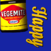 vass: a jar of Vegemite (Happy Little Vegemite)