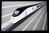 weretrain: speeding train poster (Acela)