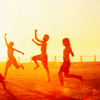 oxoniensis: photo of children dancing in the sun (world: let's touch the sky)