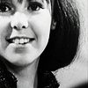 auroracloud: close-cropped image of Zoe Heriot from Classic Doctor Who, smiling (Zoe smiling)