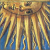 nightdog_barks: Medieval illustration of the sun (Sun face)