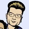 katsaris: Drawing of my face (comics)