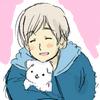 winland: ([FinHana] Want to pet my puppy?)