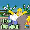 flora_gunn: drunk homer (drunk homer)