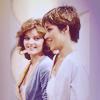 auroracloud: Nyssa of Traken and Tegan Jovanka smiling together (Nyssa Tegan laughing)