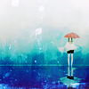 skorupi: (♡ let it rain down on me.)