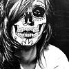 krysella: (stock • skull face)