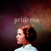 rather_a_lark: ANH Leia with negative background. Text: princess. (leia [princess])