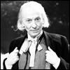 sarnath: Black and white image of William Hartnell as the first Doctor (William Hartnell, Doctor Who, black and white, First Doctor)