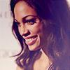 electric_heart: Actress Rosario Dawson smiling in profile (Rachel Marquez)
