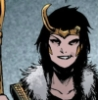 dreampunk: A picture of the marvel comics character Loki, in their female form. (genderfluid, loki)