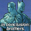 rivkat: batman and superman: in conclusion, brothers (batman superman brothers)