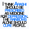 solesakuma: (Arashi as antidepressants)