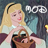 benedict: disney's sleeping beauty with the word mod on it (mod dame)