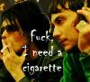 redsnake05: fuck I need a cigarette (Hot: Fuck I need a cigarette)