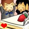 chkc: SGA: Chibi!John, Rodney, and cake (<3)