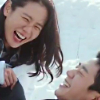 china_shop: The leads from Pretty Noona laughing together in the snow (Kdrama - PN laughing in the snow)