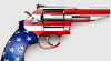mellowtigger: pistol with USA flag colors (guns)