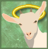 thedivinegoat: Goat with halo (Default)