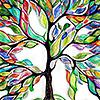 halojedha: Rainbow tree (rainbow tree)