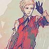 means: [aki] it's too bright (akihiko)