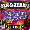 scaramouche: Bohemian Raspberry ice cream logo from Ben & Jerry's (bohemian raspberry)