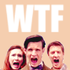 electric_heart: The 11th Doctor with Amy and Rory Pond screaming (WTF)