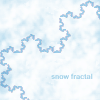 runpunkrun: portion of koch snowflake fractal, text: snow fractal (Default)