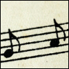 wildeabandon: musical notes on a stave (music)