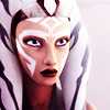 tigerlily: Ahsoka Tano in her Rebels costume gazing intently at something we can't see (Ahsoka gazing intently)