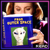 runpunkrun: dana scully reading jose chung's From Outer Space, text: read (reading)