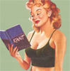 ext_4357: pin up reading kant (intellectual hottie)