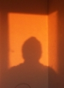 fiat_knox: silhouette of myself taken at sunrise (Shadow person, silhouette me self personal self-image)