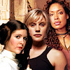 cofax7: Three women: Leia, Starbuck, Zoe (Three Women -- Body)