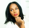 electric_heart: Actress Tika Sumpter looking over her shoulders (Lilah Montgomery)