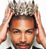 electric_heart: Actor Charles Michael David with a crown on his head (Darius Montgomery)