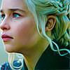 electric_heart: Khaleesi in profile (Khaleesi)