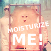 electric_heart: Skin with a face stretched on a rod (Moisturize Me!)