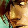 jesse_the_k: Alana from SAGA comic looks suspiciously to her left (alana side-eyes)