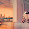 sawedoffgenius: Artoo on the far right, retreating from the camera. (I'm out of here.)