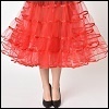 pettycoat: A woman in a pink petticoat and black pumps, photographed from the hips down. (Default)