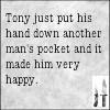 waldo: (ncis: Tony hand in man's pocket)