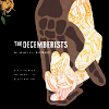 "pospreterito: two clasped hands; words: ""THE DECEMBERISTS"" ({music} ..decemberists feeling 'round)"