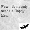 waldo: (ncis: Someone needs a Happy Meal)