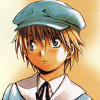 brightblueink: Joshua from Chrono Crusade as a child, wearing a blue hat and suit. (Little boy blue)