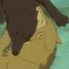 halvedhowl: (Wolf - nuzzle)
