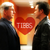 dinozzoitis: Tony and Gibbs, Baltimore Bulge pic, Heart with Tibbs (Tibbs)