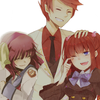 makelove: Yurippe from Angel Beats being moe with Battler and Ange from Umineko! ([ Yuri + Battler + Ange | SUCH MOES. ])