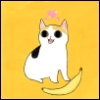 kamakrazeee: cat no banana by chuckdrawsthings on tumblr (cat, chuckdraws)